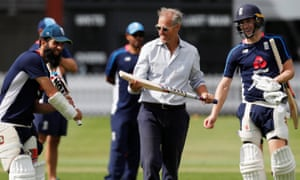 Ed Smith (centre) has a choice of Moeen Ali and Chris Woakes as all-rounders to replace the absent Ben Stokes.