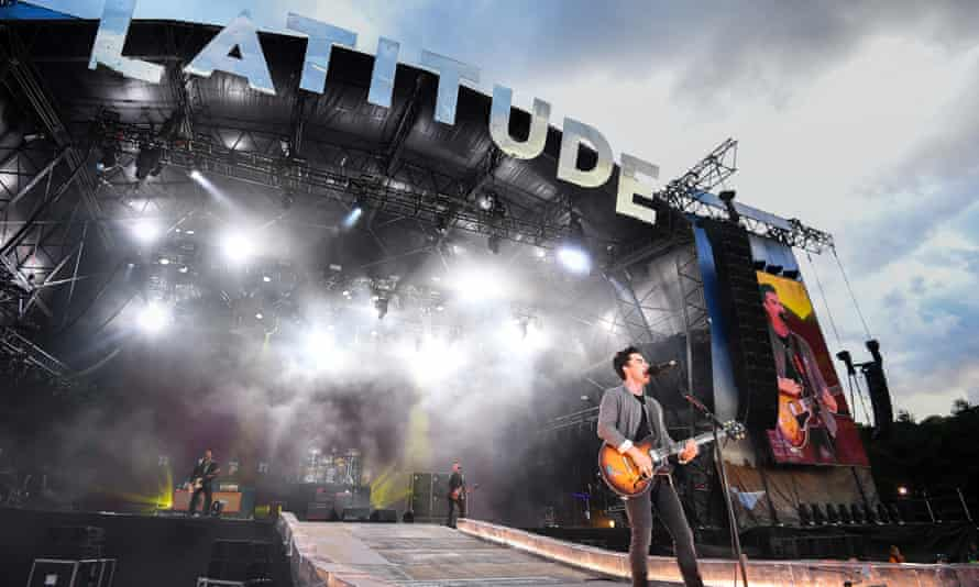 Kelly Jones of Stereophonics performing at Latitude, 20 July 2019.