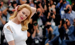 Show-stealer … Nicole Kidman greets the cameras at Cannes 2014.