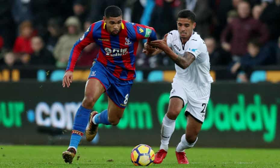 Ruben Loftus-Cheek (left) has not played for Crystal Palace since Christmas.