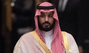 Saudi deputy crown prince Mohammed bin Salman al-Saud