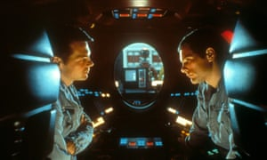 Keir Dullea and Gary Lockwood in 2001: A Space Odyssey.