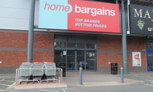 The Home Bargains store at Shrub Hill retail park in Worcester
