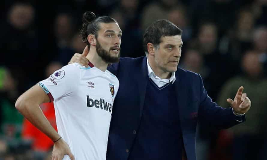 Manager Slaven Bilic says West Ham United did not want to sell one of its 'best players', Andy Carroll.