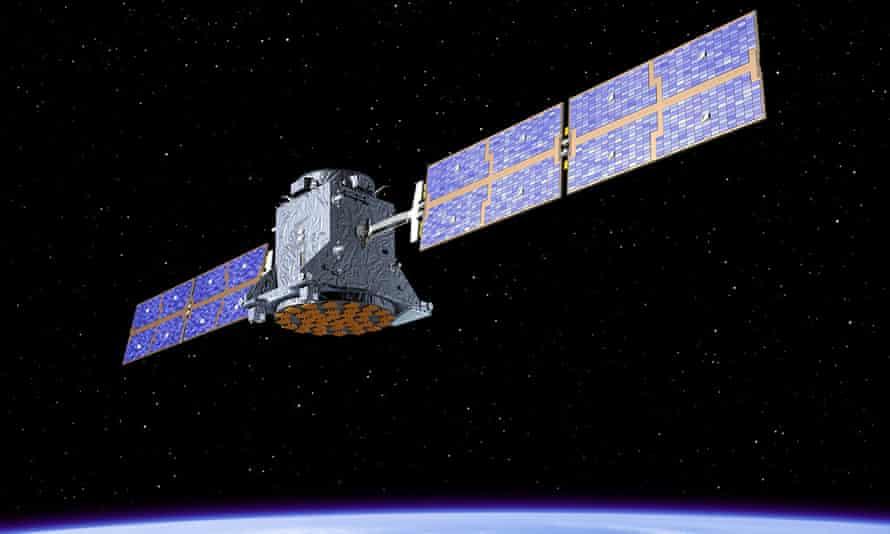 The EU's Galileo satellite.