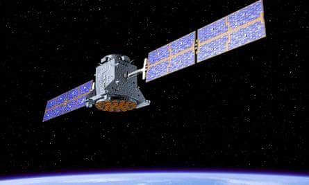 Satellite in the Galileo system