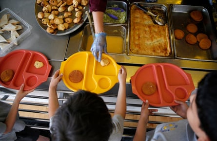 Free meals are being denied to school children due to parent immigration status