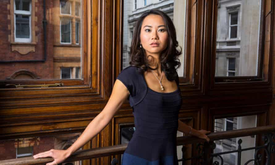 'Euphoric and anxious': Felicia Yap photographed at her publisher's London office