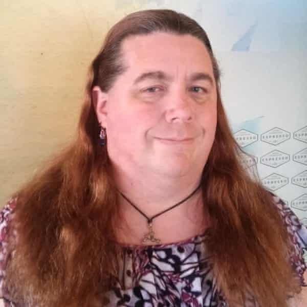 Dee Shull, a 44-year-old gender-fluid California resident.