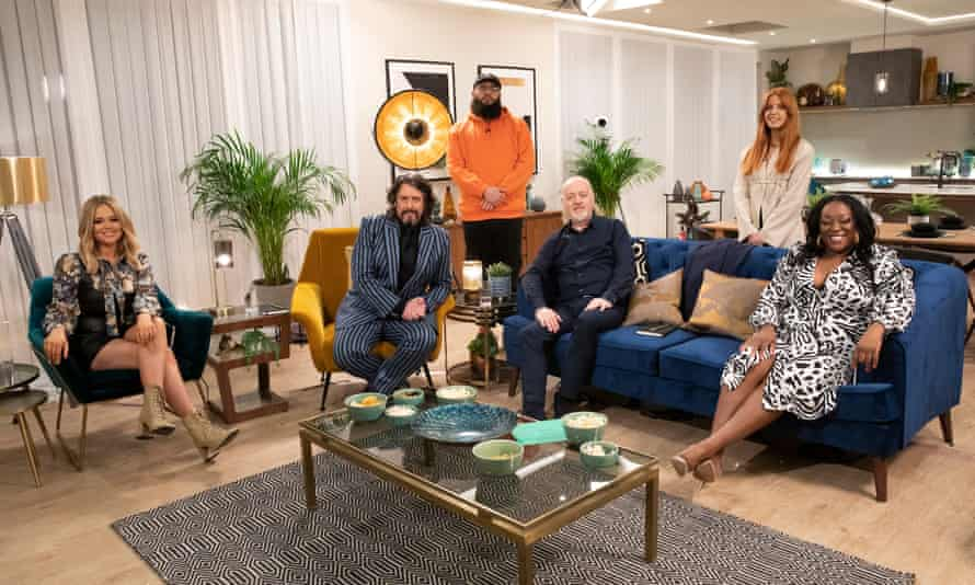 Emily Atack, Laurence Llewelyn-Bowen, Jamali Maddix, Bill Bailey, Stacey Dooley and Judi Love in This Is My House.