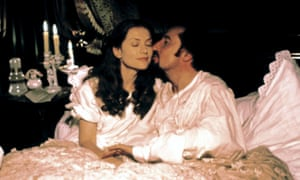 Isabelle Huppert as Emma and Jean-François Balmer as Charles in the 1991 film adaptation of Madame Bovary.