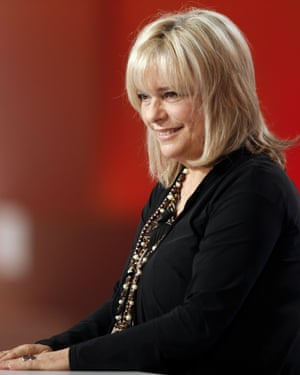 France Gall appearing on French TV in 2012.