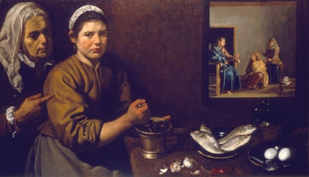 'Christ in the house of Mary and Martha', c1618-1622 Artist: Diego Velasquez