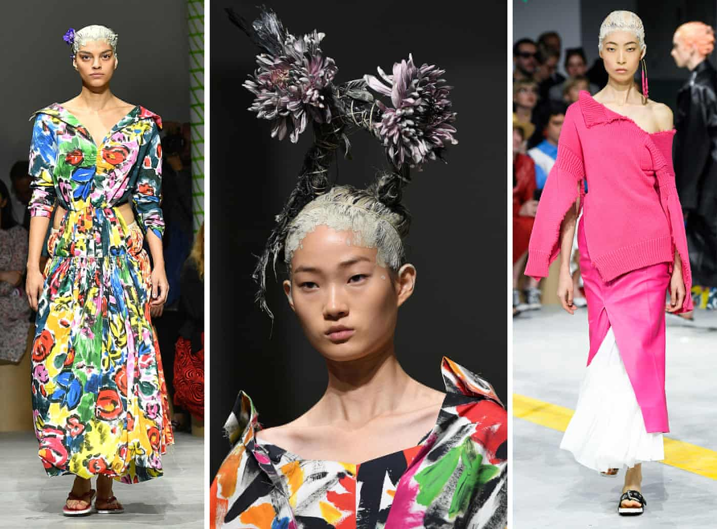 'Our joyous process': Marni SS20 show repurposes waste as high art