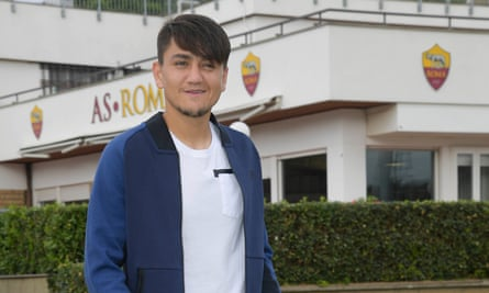 Cengiz Under scored on his international debut for Turkey and his hoping to clinch a place in the Champions League knockout phase with Roma at Atlético Madrid on Wednesday night.