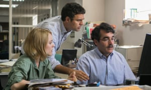Rachel McAdams, Mark Ruffalo and Brian d'Arcy James in Spotlight