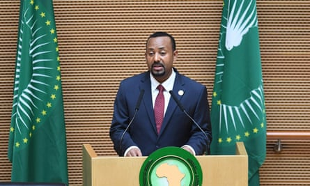 Ethiopia's prime minister, Abiy Ahmed