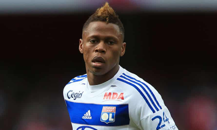 Clinton Njie joins Spurs from Lyon.