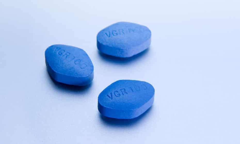 Three Viagra tablets