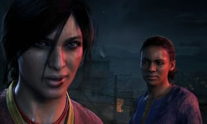 Peerless cinematic adventure game … Uncharted: The Lost Legacy.