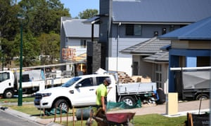 New homes being built in Mango Hill, Brisbane.