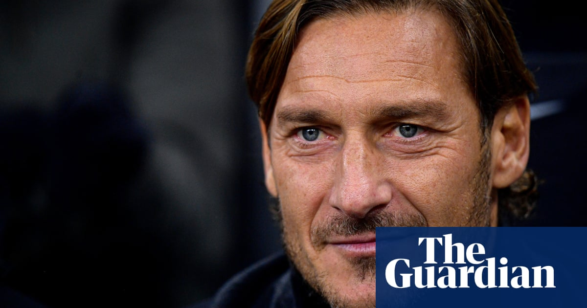 Francesco Totti: 'In my time football was made of love. Today it's more business'