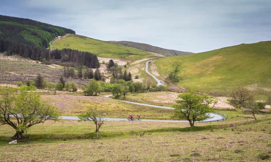 Big Wilderness Adventure- Start at Llandovery (4) Cycling Wales