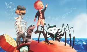 Film still of James and the Giant Peach, 1995