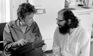 Ginsberg and Dylan's meeting was 'less a bohemian summit and more like a hostage negotiation'