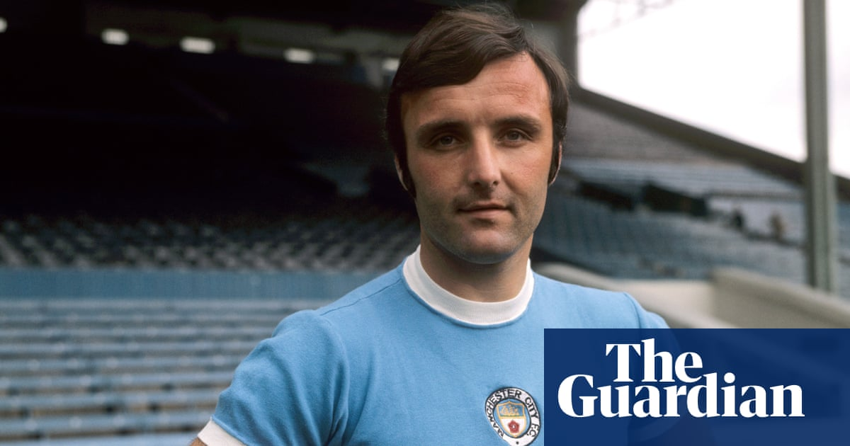 Glyn Pardoe, title-winning defender with Manchester City,  dies aged 73