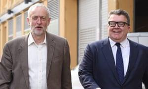 Jeremy Corbyn and Tom Watson on the EU referendum campaign trail.
