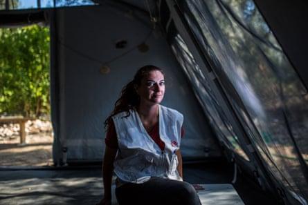 MSF mental activity manager Giovanna Bonvini