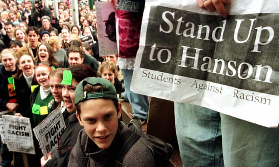 Students rally against racism