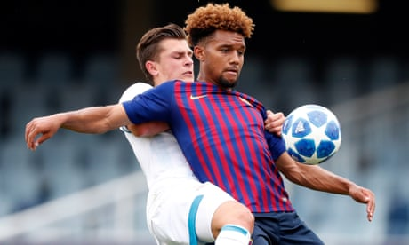 Konrad De La Fuente: the US winger making waves at Barcelona's academy
