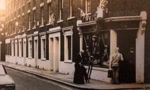 Hayles Street, south London, in happier days.