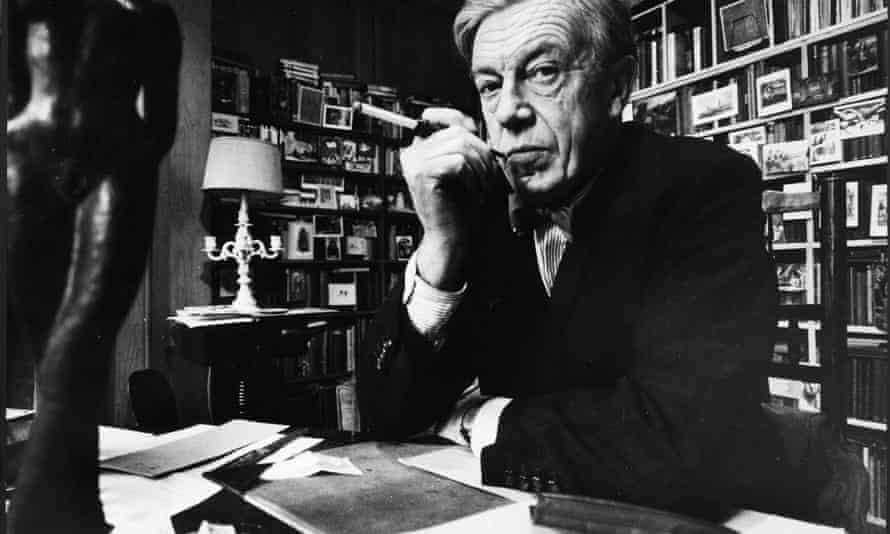 Cecil Day-Lewis in his study in the late 1960s.