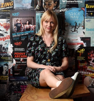 Infectious personality … DryWrite's co-founder Vicky Jones.