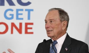Michael Bloomberg<br>FILE - In this Jan. 27, 2020, file photo, Democratic presidential candidate and former New York City Mayor Michael Bloomberg speaks to supporters at a campaign office, Monday, Jan. 27, 2020, in Scarborough, Maine. (AP Photo/Robert F. Bukaty, File)