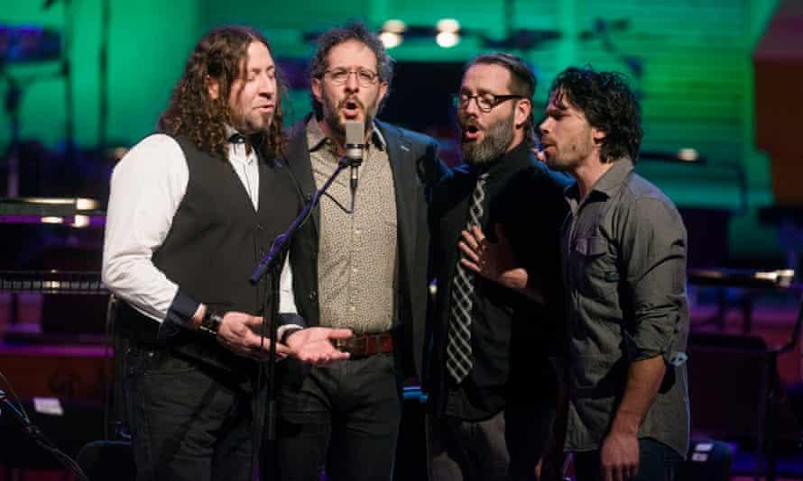 Tuneful … Canadian folk band Le Vent du Nord.