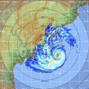 Cyclone Fani in the Bay of Bengal