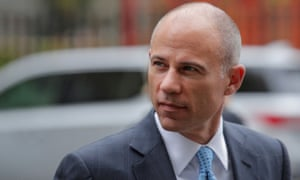 Michael Avenatti arrives at the United States courthouse in Manhattan, 8 October 2019.