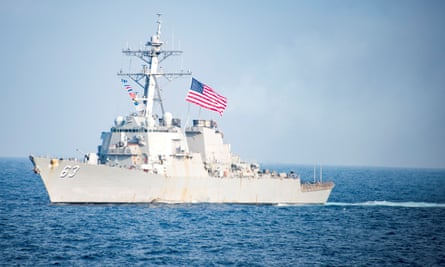USS Stethem sailed less than 12 nautical miles from Triton Island, which is claimed by China as well as Taiwan and Vietnam.