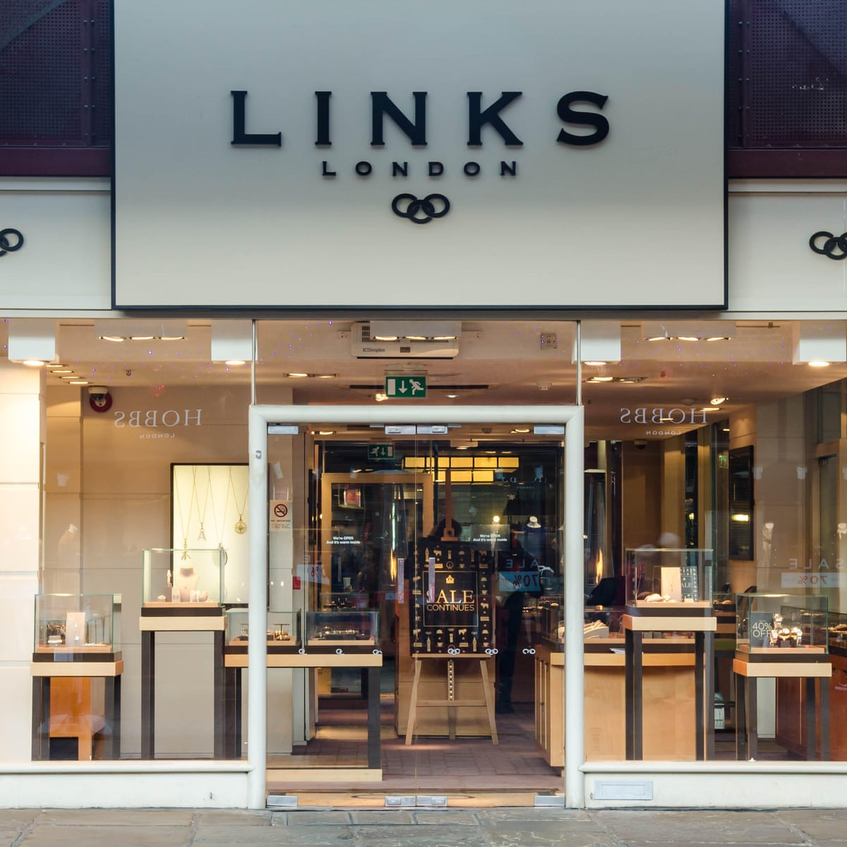 Links Of London Jewellery Chain Goes Into Administration Retail Industry The Guardian