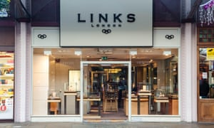 The Links of London store in Windsor.