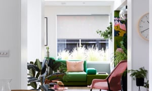 The Polder sofa is by Hella Jongerius, and the Slow chair by Ronan and Erwan Bouroullec (both from twentytwentyone.com).