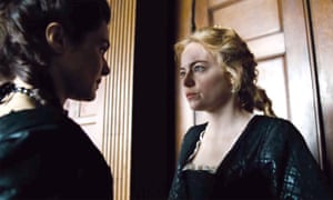 Weisz as Lady Sarah and Stone as Abigail in The Favourite. Photograph: Allstar/Film4