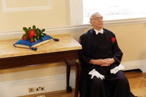 The Knollys Rose Ceremony, Mansion House, City of London, 2015
