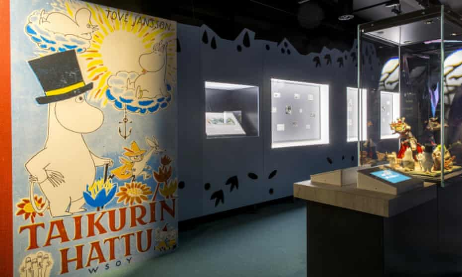 Interior of the Moomin Museum, Tampere, Finland