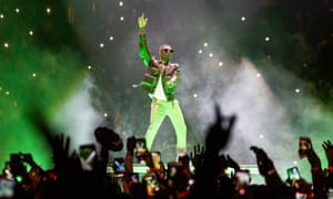 Glittering gallery of sound ... Wizkid.