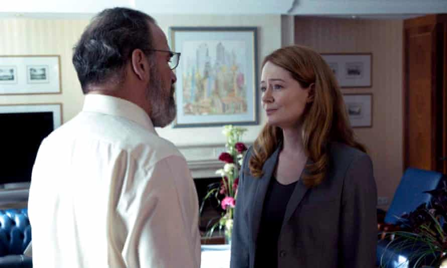 Spies like us: Mandy Patinkin and Miranda Otto in Homeland
